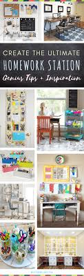 homework station for kids the best organization ideas for how to create a study space