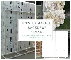 how to make a flower wall backdrop stand for weddings diy