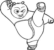 Kung Fu Panda Coloring Page 35