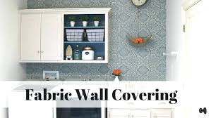 decorative acoustic wall panels fabric on walls instead of paint stretch systems how to apply hang covering ideas kids room organization