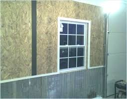 garage wall covering corrugated metal for interior walls the journal board ideas cinder block coverings i