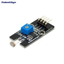 Analog Light Sensor Arduino Robotdyn 10 Pcs Photosensitive Light Sensor Ldr With Analog Digital Outs For Arduino Stm32 Raspberry Pi Projects
