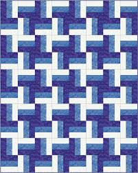 Rail Fence Quilt Pattern