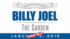 billy joel madison square garden tickets. Billy Joel Announces 13th Consecutive Show At Madison Square Garden January 9, 2015 - Official Site Tickets 1