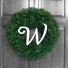 custom artificial boxwood weatherproof wreaths outdoor wreath faux boxwood mon