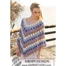 Free Crochet Poncho Patterns Magnificent Fashion Free Ladies Crochet Poncho Pattern Ladiesu48 Capes U48