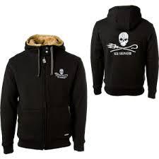 Hemp Hoodlamb Sea Shepherd Furry Full Zip Hooded