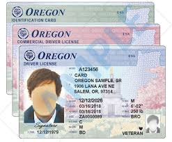Update Driver's To License Card Oregon Design; Id