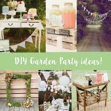 top diy ideas for a garden party