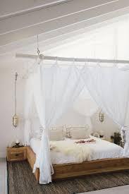 Betthimmel Dachschräge Einzigartig Vintage Schlafzimmer Mit