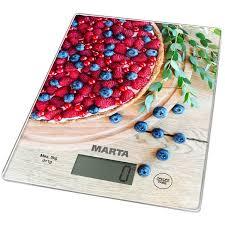Купить <b>Весы кухонные Marta MT-1634</b> ягодный пирог в каталоге ...