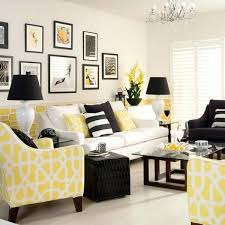 black white living room. Black Gray And Yellow Living Room Fascinating Grey Ideas White