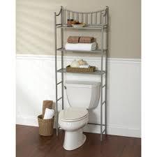bathroom storage over toilet. Metal Spacesaver Bath Storage Rack, 3 Shelf, Satin Nickel Bathroom Over Toilet