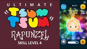 tsum tsum bingo card 3 mission 7 rapunzel