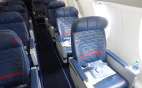 Delta Regional Jet Seating Chart Review Delta Air Lines Crj 900 First Class One Mile At A Time