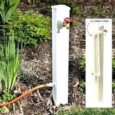 decorative outdoor faucet handles garden faucet full image for garden hose spigot extension garden hose valve decorative outdoor faucet