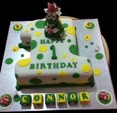 1st Birthday Dinosaur Childrens Birthday Cake Antonias Cakes