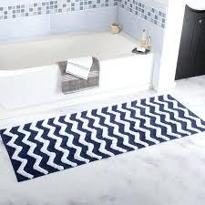 chevron bath rug mat grey and white gray bathroom