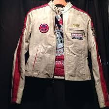 wilsons leather jacket women racing womens