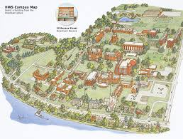 hws campus maps Mcdaniel College Map printable pdf map mcdaniel college campus map