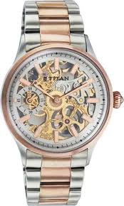 titan automatic analog watch for men silver brass description titan automatic analog watch for men silver brass description and comparison in discountpandit