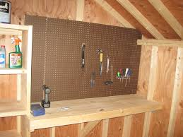storage shedcessories workbench pegboard suncast tremont gable rubbermaid piece set arrow shed accessories big max 3