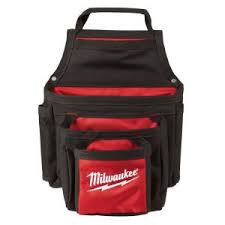 milwaukee tool belt. 13 in. 3-tier material pouch milwaukee tool belt