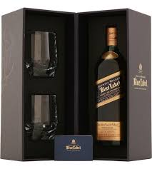 johnnie walker blue label gift set