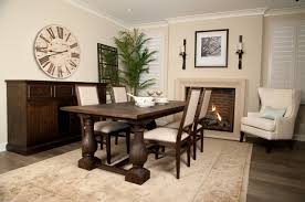 Dark Wood Dining Table Small White And Dark Wood Dining Table And - Brown dining room chairs