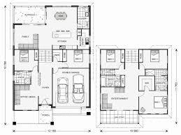 split level house plans nz best of h shaped modern new
