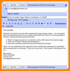 What To Say In An Email When Sending Your Resume Resume Work Template