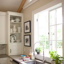 Kitchen Without Upper Cabinets Storage Ideas For Kitchens Without Upper Cabinets Traditional Home