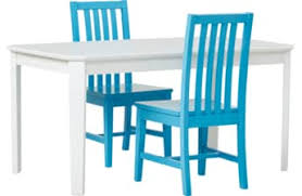 Jo White 3 Pc Table Set Kids and Chair Sets