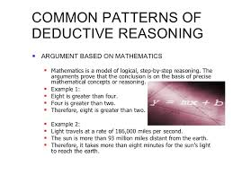 analysis inductive and deductive arguments  35 common patterns of deductive