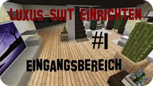 Minecraft Luxus Haus Einrichten Part 1 Jannis Gerzen Youtube Avec