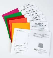 Ral 840 Hr Colour Chart Ral Colours Ral 840 Hr Single Cards
