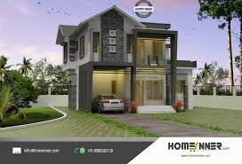 today we are showcasing a modern contemporary house plan in 4 cent plot luxury kerala home design by homeinner team