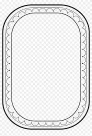 simple frame border design frames and borders clip art 681101
