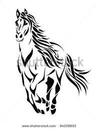 tribal horse head clip art. Interesting Art Horseheadclipartstockvectortribalrunning In Tribal Horse Head Clip Art Pinterest