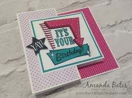 fold card the craft spa stampin up uk independent demonstrator