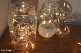Decorated Jam Jars For Christmas DIY Festive Fairies In Snowcovered Kilner Jars 46