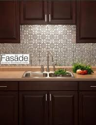 Install Backsplash Awesome FASADE Backsplash Quick And Easy To Install Great For A Quick