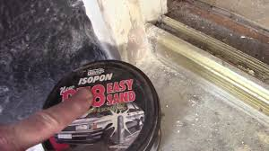 How to repair a rotten wood on a door frame, window frame the ...