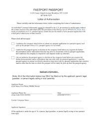 Authorization Letter Free Authorization Letter Sample