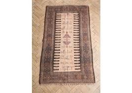 vintage persian sumak flat woven kilim rug 189 x 99cm