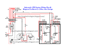 wiring diagram symbols circuit breaker wirdig automatic ups system wiring electrical amp electronic technology