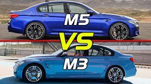 Coupe Series bmw m3 vs m5 : 2018 BMW M5 vs BMW M3 - YouTube