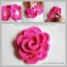 Easy Crochet Flower Patterns Free