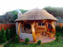 Small Picture Thatched Roof for Gazebos Thatched roof Pergolas and Outdoor living