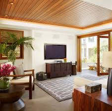 wood ceiling designs living room